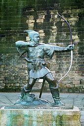 Robin Hood Memorial at Nottingham
