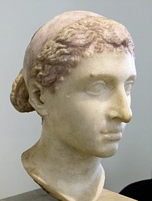 Bust of Cleopatra VII in Berlin