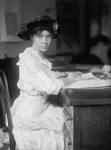 Alice Paul, author of the ERA