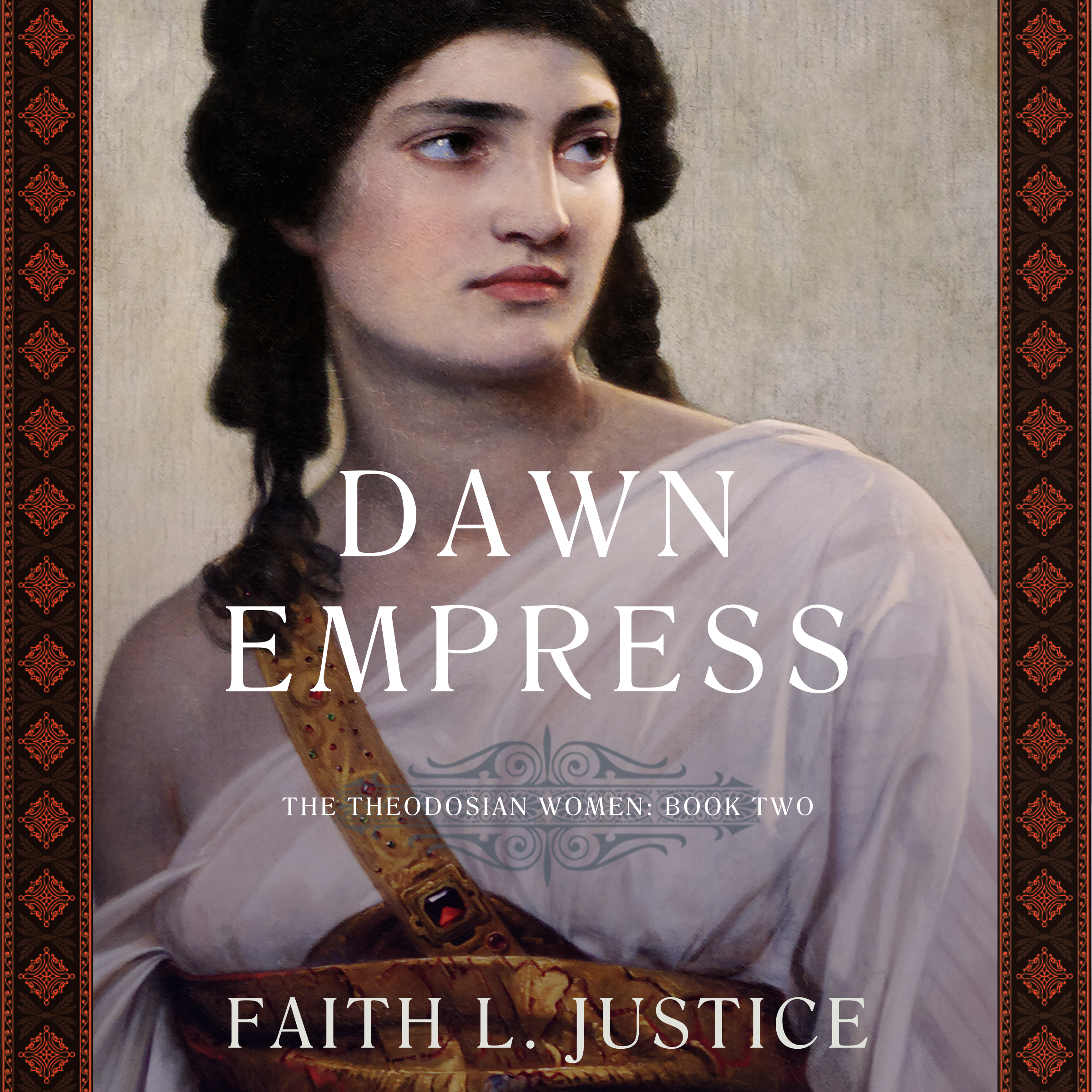 Dawn Empress audio book cover