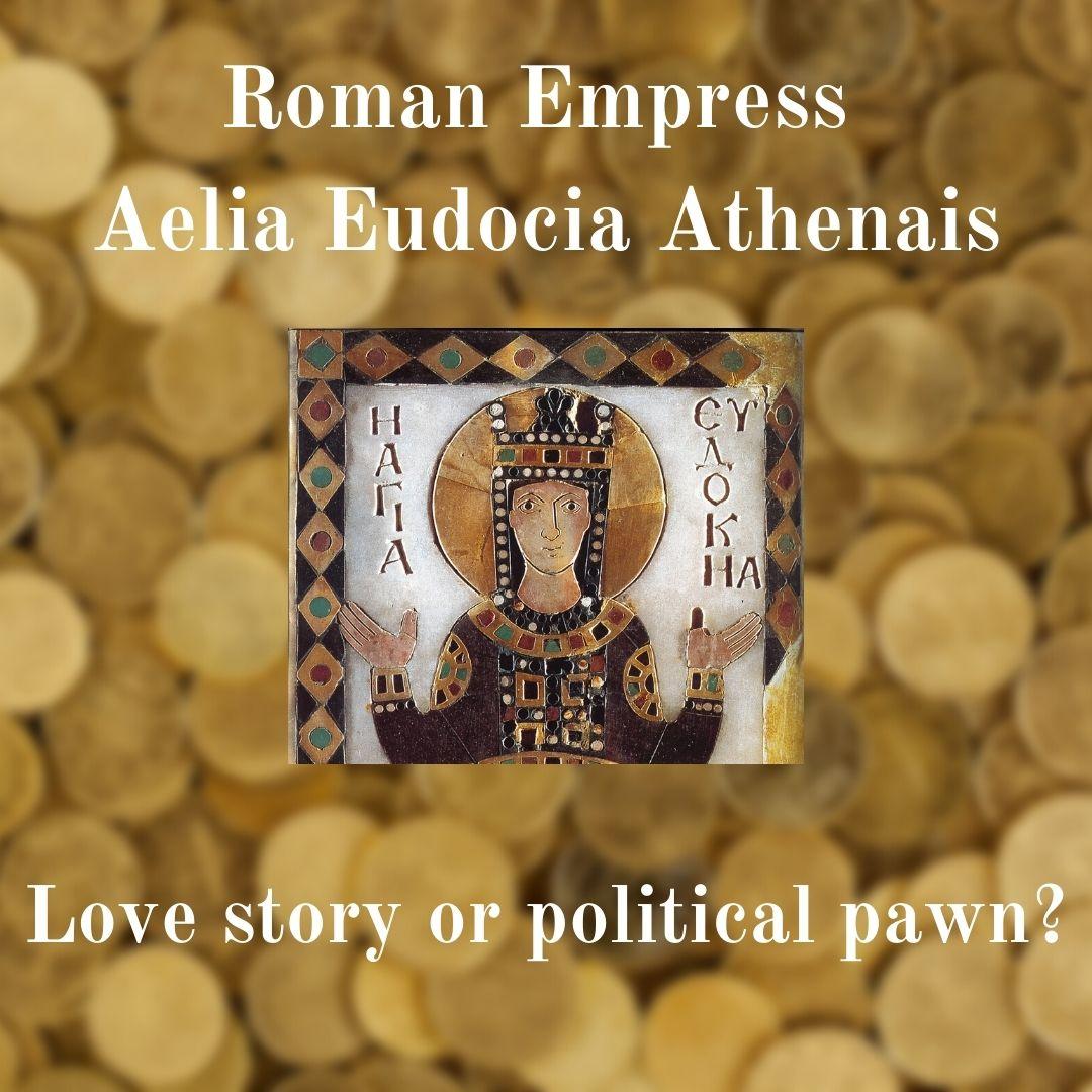 Mosaic image of Aelia Eudocia (Athenais)