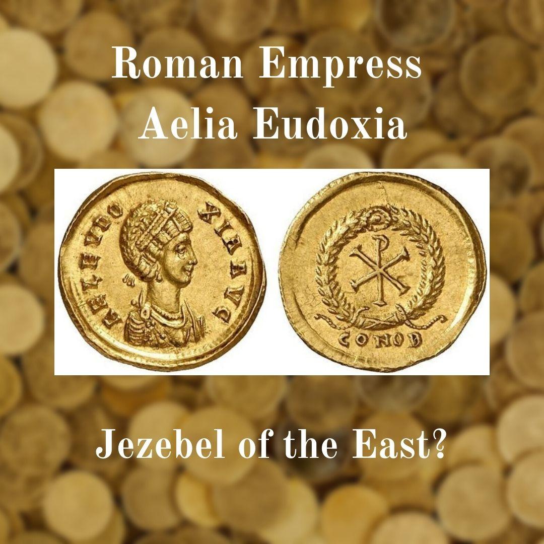 Coin image of Empress Aelia Eudoxia