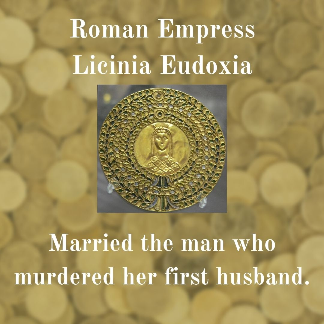 Medalion image of Empress Licinia Eudoxia