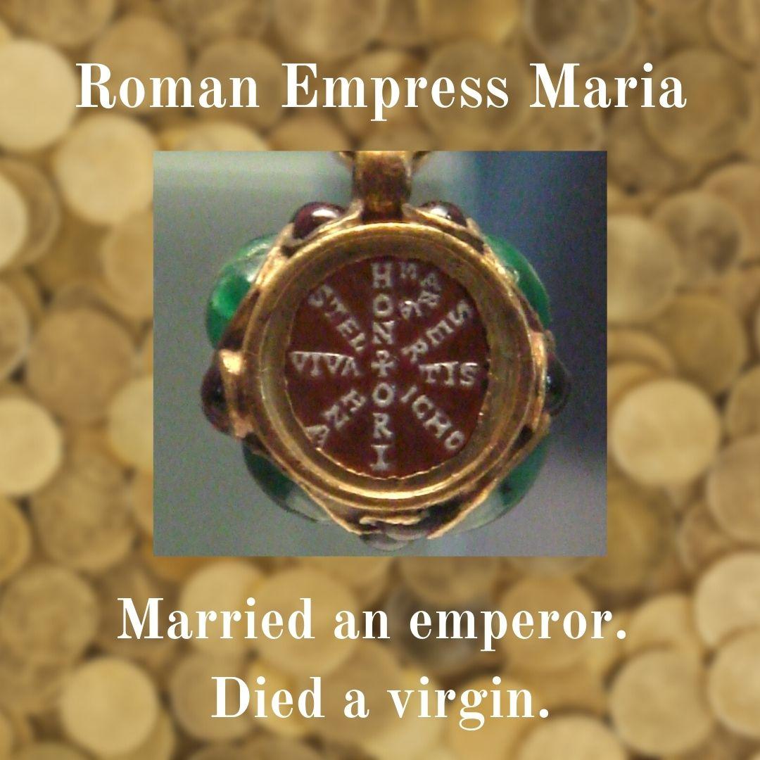pendant of Empress Maria